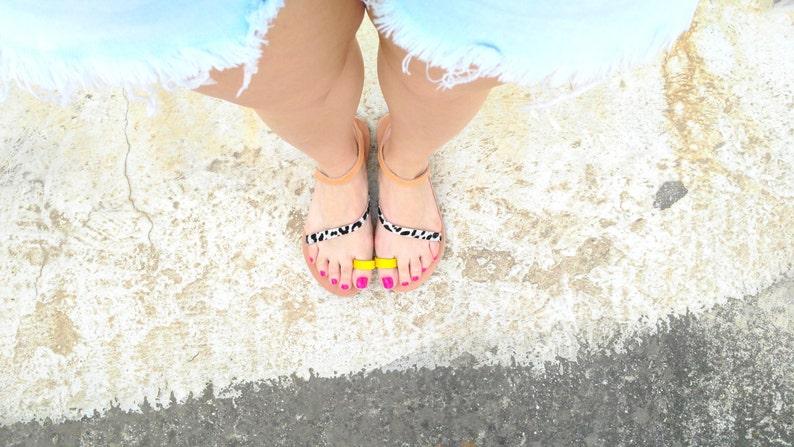 leather sandalsaelia Greek sandals gladiatorstrap sandalswoman or girl sandals   toe ring leather sandals  handmade boho sandals