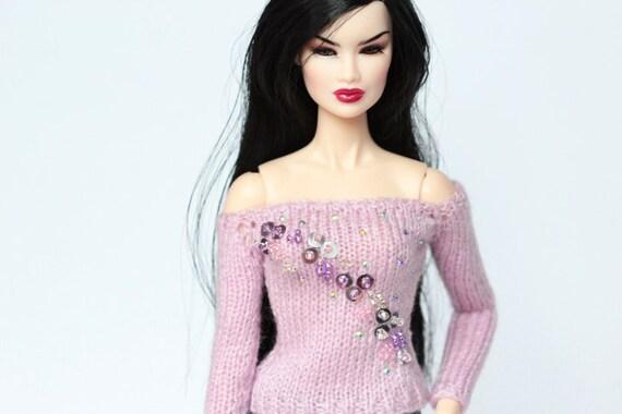 NEW BLACK STAND FASHION ROYALTY INTEGRITY TOYS FR FR2 NU FACE POPPY PARKER doll