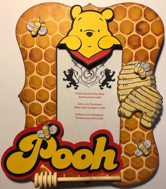 Winnie The Pooh Frame Etsy