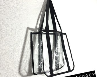 Stylist Clear Tote Bag - Medium