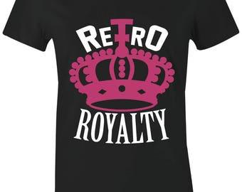 031ff62574a451 Retro Royalty - Juniors Women T-Shirt to Match Jordan 5