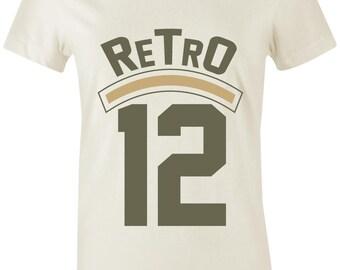 04b4084ca6f Retro 12 - Juniors/Women T-Shirt to Match Jordan 12