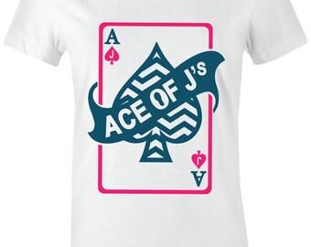 fd2d2a96037ddc Ace of J s - Juniors Women T-Shirt to Match Jordan 6