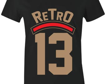 49658edfd5f Retro 13 - Juniors/Women T-Shirt to Match Jordan 13