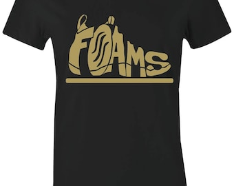 4a380c1b3c4 Foams- Juniors Women T-Shirt to Match Foamposite Pro