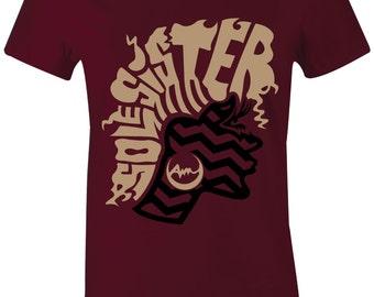 """/""""LOOK DOWN/"""" T-Shirt to Match Foamposite /""""HYPER COBALT/"""" Foams"""