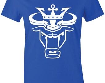 8b4f1d676811ee Crown Bull - Juniors Women T-Shirt to Match Jordan 1