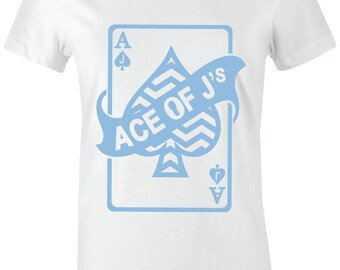 00849881b38c Ace of J s - Juniors Women T-Shirt to Match Jordan 7