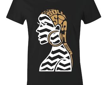 Sole Sister 2 - Juniors Women T-Shirt to Match Jordan 12