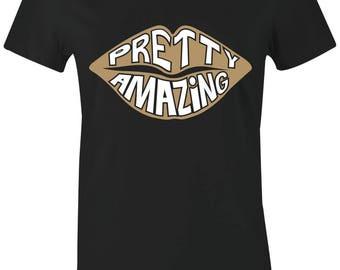 80b82488562533 Pretty Amazing - Juniors Women T-Shirt to Match Jordan 1 High OG