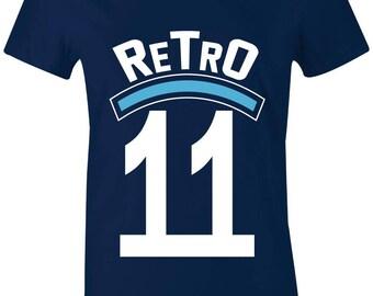 5b5e24307d49d8 Retro 11 - Juniors Women T-Shirt to Match Jordan 11