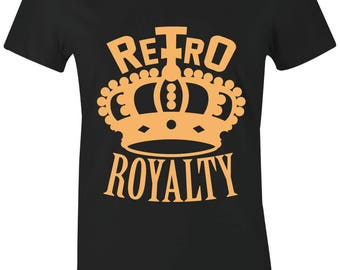 017057ea58996d RETRO ROYALTY Juniors Women T-Shirt to Match Jordan 13 Low