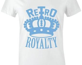 da0af13df2197e Retro Royalty-Juniors Women T-Shirt to Match Jordan 11 Low