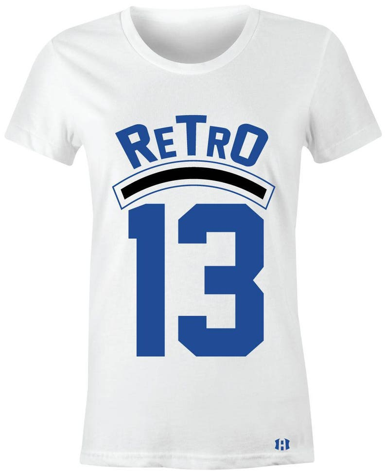 finest selection 5dacf 3aed0 Retro 13-Juniors Women T-Shirt to Match Jordan 13 Hyper   Etsy
