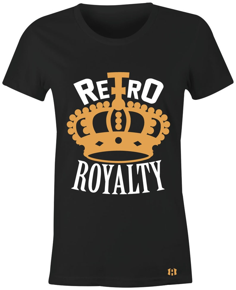 3da5bfa8b1c7 Retro Royalty Juniors Women T-Shirt to Match Jordan 4