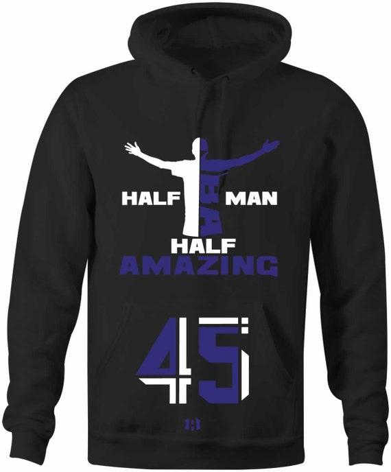 "/""HALF MAN HALF AMAZING/"" 45 T-Shirt to Match Air Retro 11 /""SPACE JAM/"" 2016"