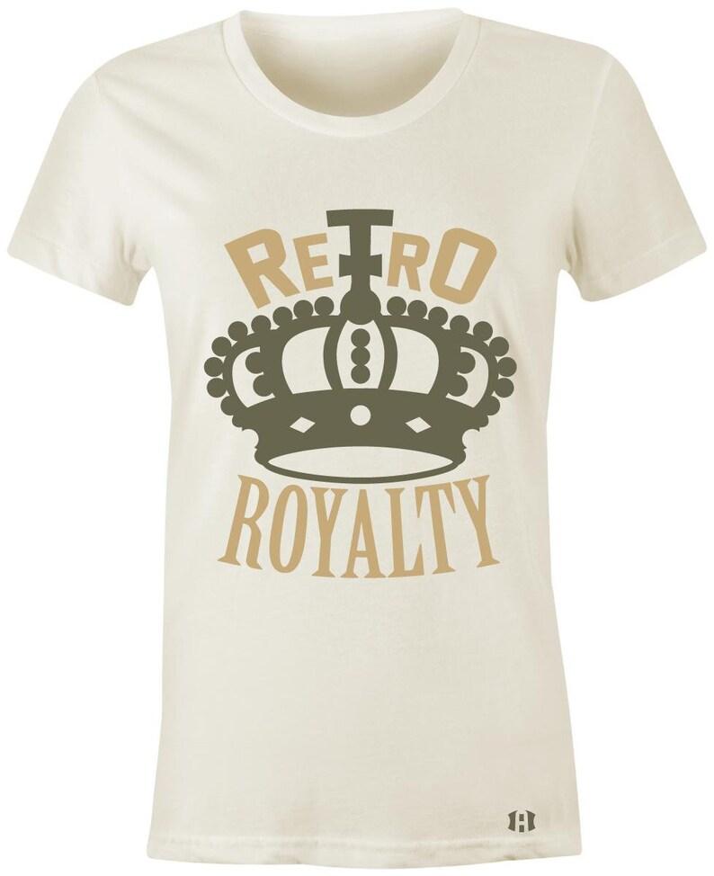 042d83232fcbb3 Retro Royalty Juniors Women T-Shirt to Match Jordan 12