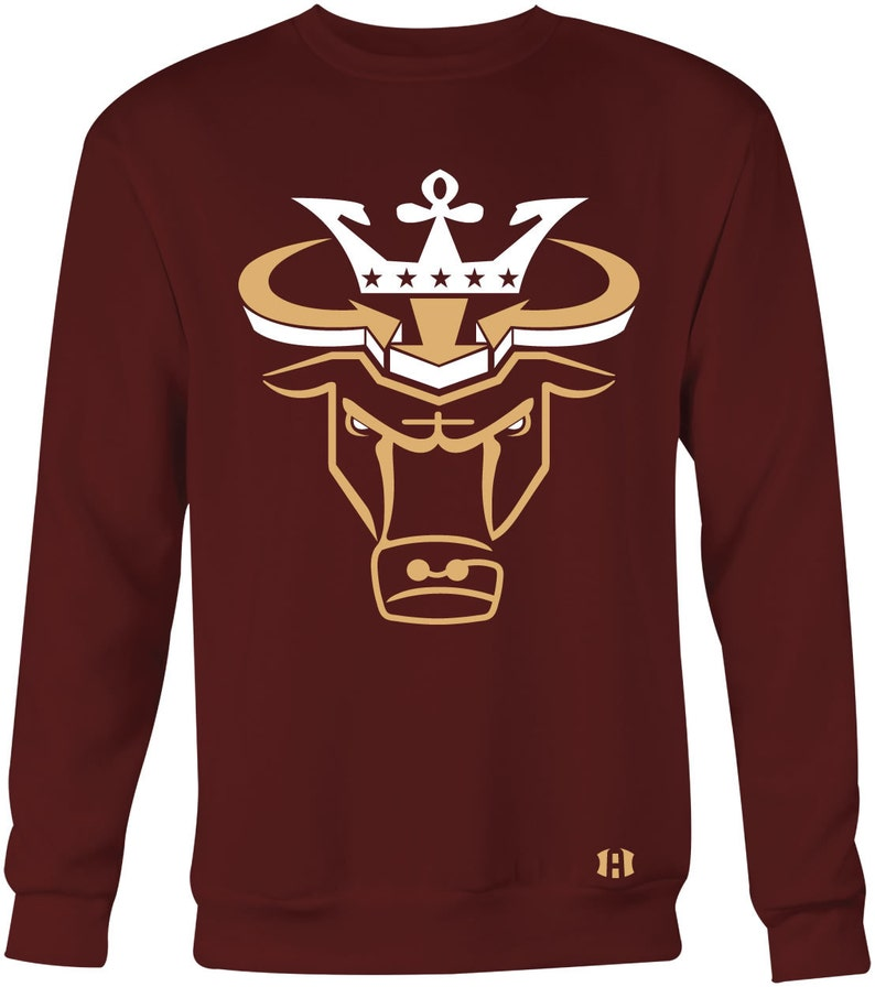 7c1b78b8736 Crown Bull Sweatshirt to Match Jordan 11 And Jordan 1