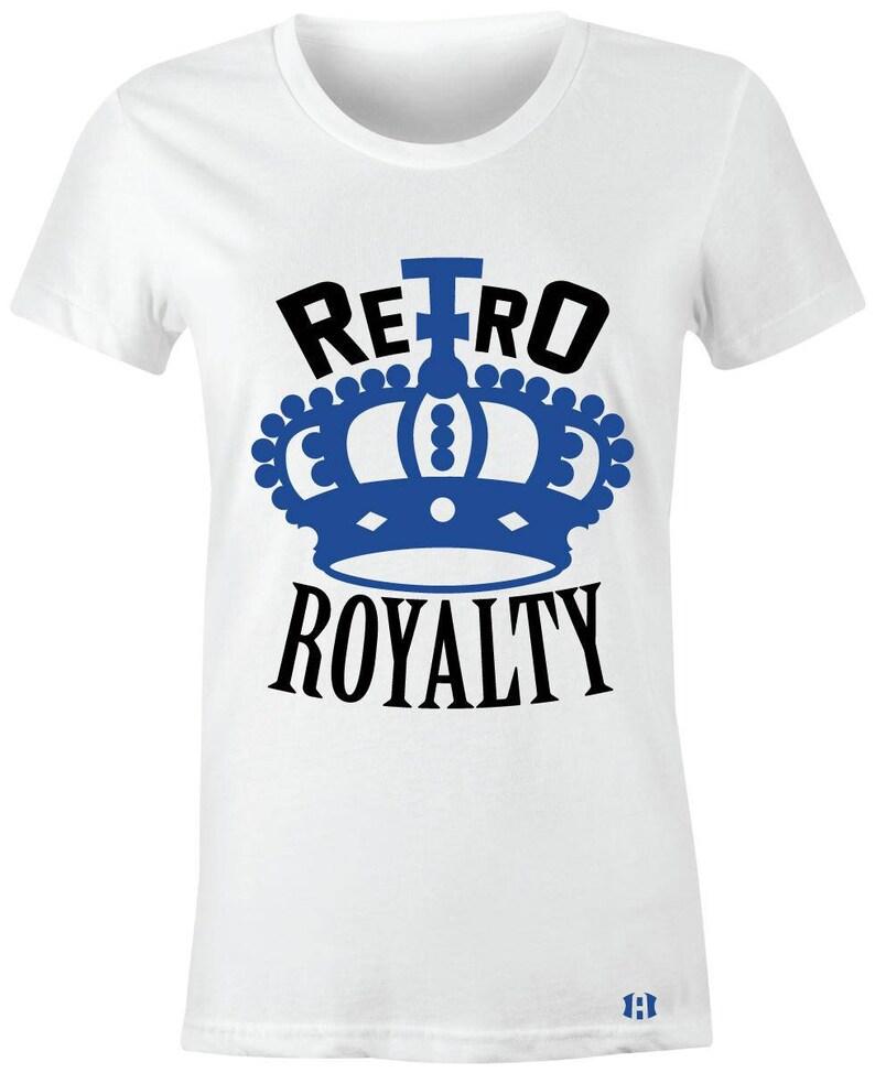 738361aa8e18 Retro Royalty-Juniors Women T-Shirt to Match Jordan 13