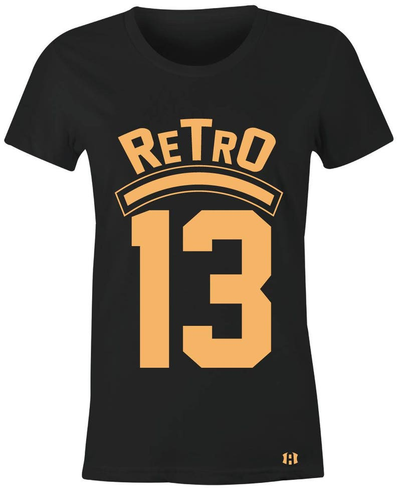 d602e0e85dce6e RETRO 13 Juniors Women T-Shirt to Match Jordan 13 Low