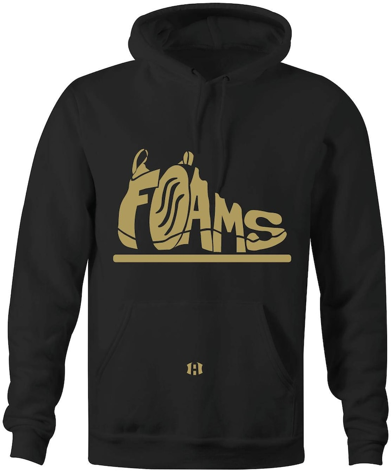 quality design d5053 7d65c Foams Hoodie to Match Foamposite Pro Metallic   Etsy