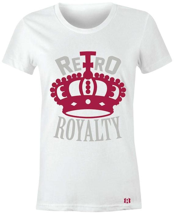 c89029783a34 Retro Royalty Juniors Women T-Shirt to Match Jordan 6