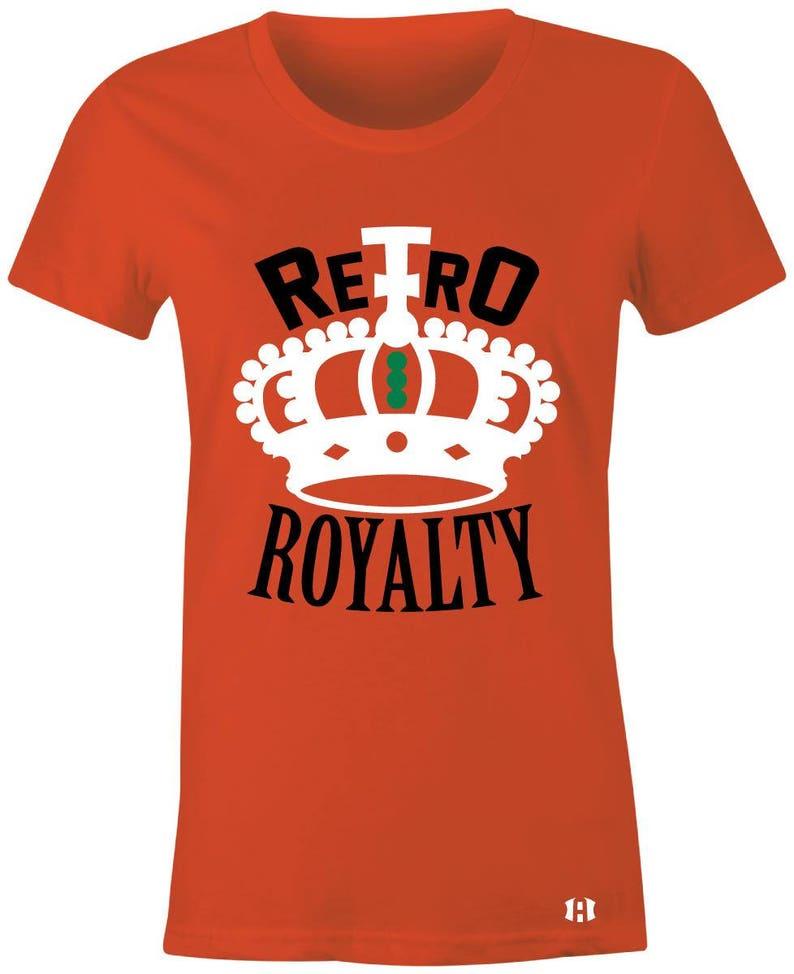 d59e477faad9af Retro Royalty Juniors Women T-Shirt to Match Jordan 6