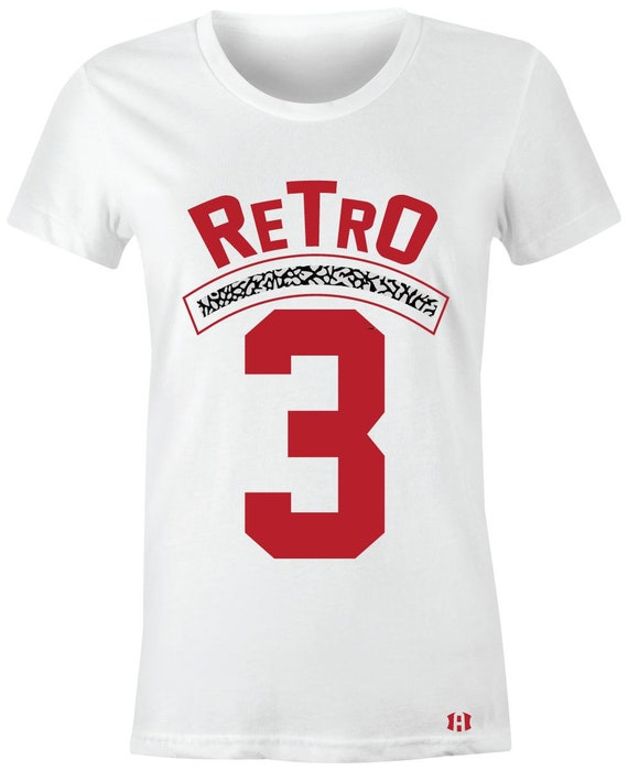 "/""Crown Bull/"" T-Shirt to Match Retro /""Black Cement/"" 3/'s"
