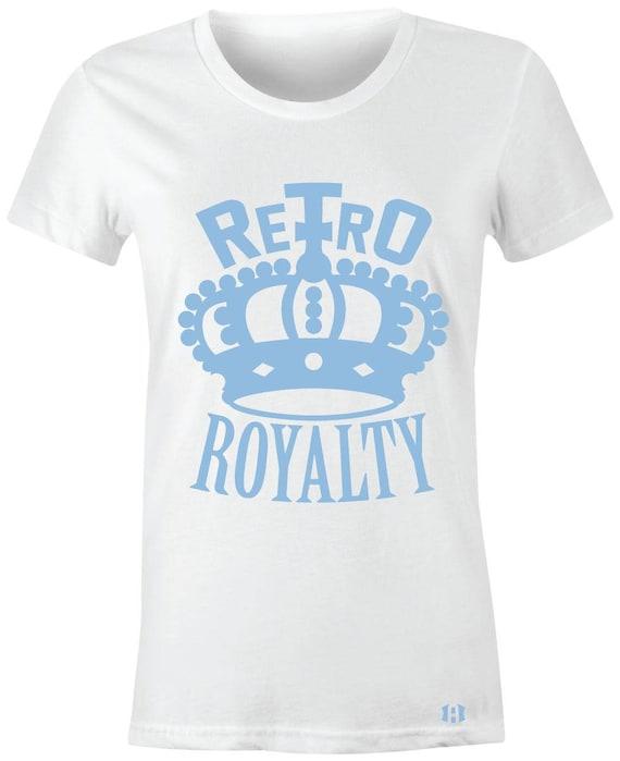 45b83700daba Retro Royalty Juniors Women T-Shirt to Match Jordan 7