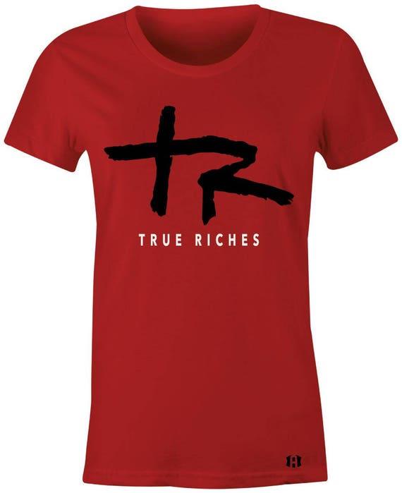 1fd248e28153 True Riches Juniors Women T-Shirt to Match Jordan 1 High OG