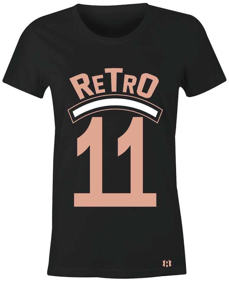 d5f8d7cf3b85 Retro 11-Juniors Women T-Shirt to Match Jordan 11 Low