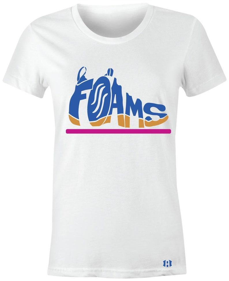 the best attitude 34d81 4d36b Foams - Juniors/Women T-Shirt to Match Little Posite ONE