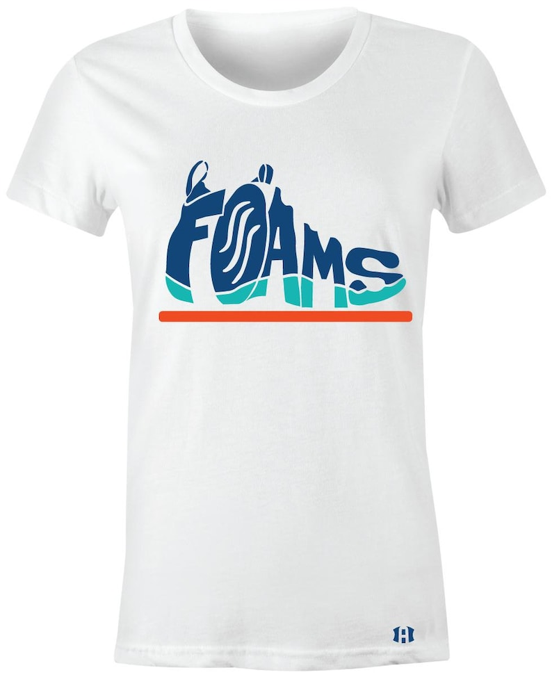 quality design 8b66e 1ebb9 Foams - Juniors/Women T-Shirt to Match Little Posite PRO