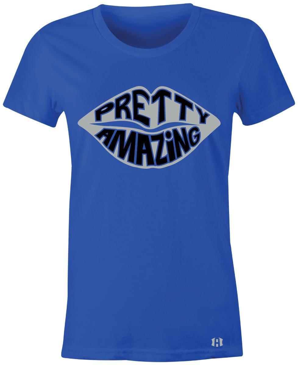 21b530f7ea43 ... Pretty Amazing Lips Juniors Women T-Shirt to Match Jordan 5 Etsy ...