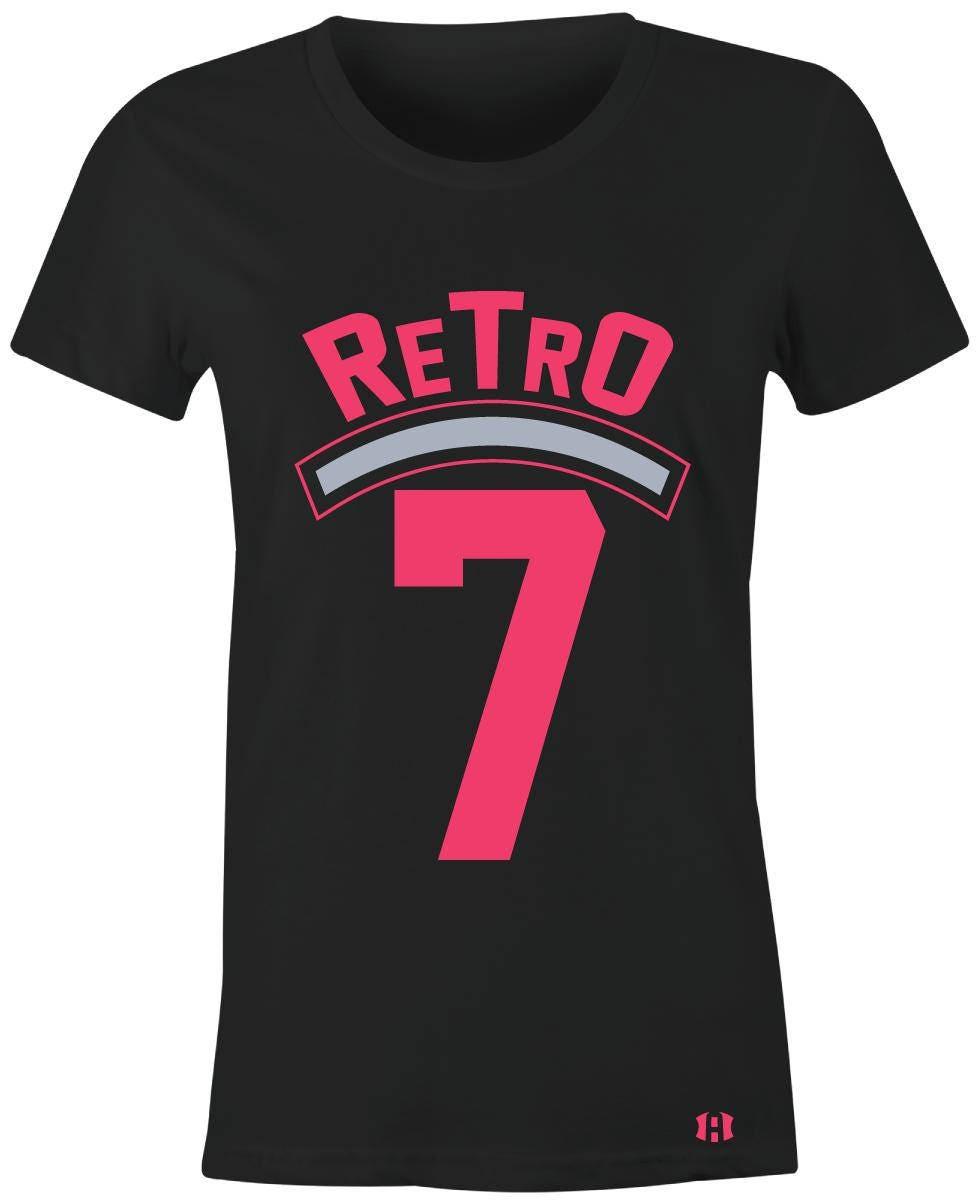84937c855d597c Retro 7 Juniors Women T-Shirt to Match Jordan 7 Hyper