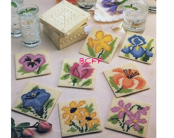 Plastic Canvas Patterns Placemats Inserts Purses Cases Holders Centerpieces