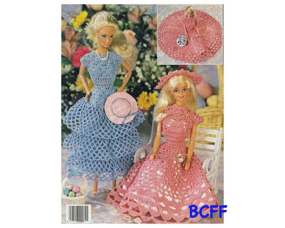Crochet Doll Clothes & Shoes - Doll Dress Pattern Collection ... | 456x570