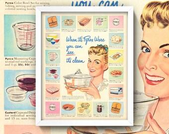 Vintage Kitchen Etsy