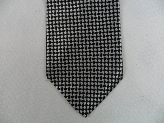 NEW 100/% SILK MEN/'S NECK TIE necktie silver gray wedding prom formal work