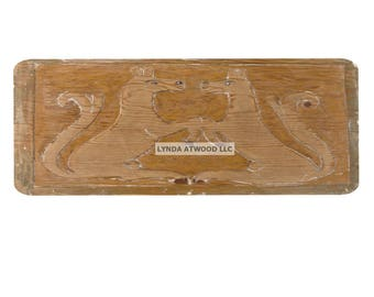 Bas Relief Carving Note Card