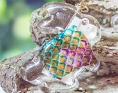 REAL Snake Shed Pendant |...