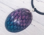 Dragon Egg Pendant with R...