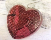 Real Snake Shed Heart Chr...