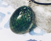 Dragon Egg Pendant with R...