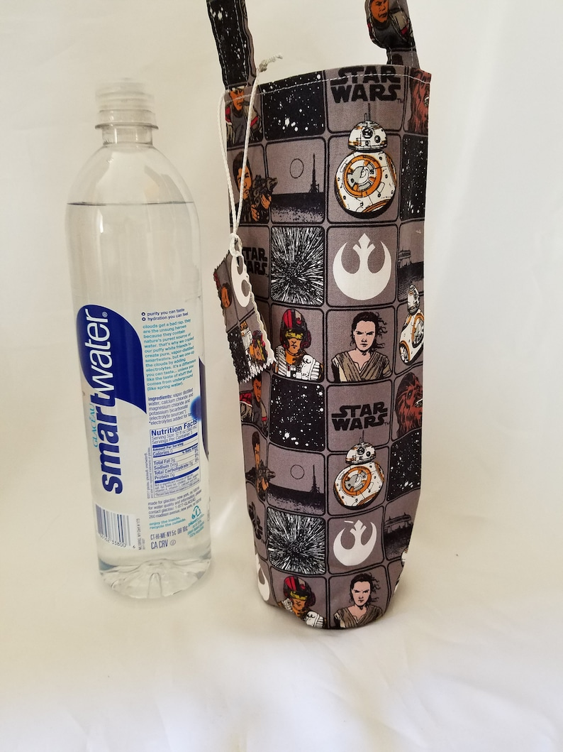 Star Wars wine tote birthday gift bag for him or her single image 0