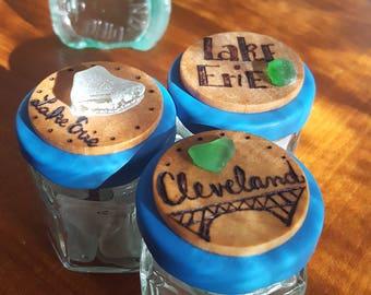 Cleveland & Lake Erie beach glass
