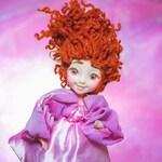 Gift for girl Kids toy Christmas gift fantasy doll gift for kids Toddler Doll waldorf doll poseable doll gift for goddaughter naive art