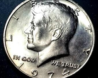 John F Kennedy Münze Etsy