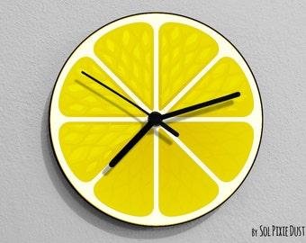 Lemon Fruit Wall Clock