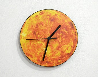 Planet Venus - Wall Clock